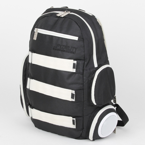 [초특가세일] 백팩 스피커가방 Fydelity Classic TRIPLE PLAY Backpack (BLACK/WHITE) - FYPACK002