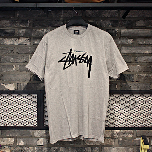 STOCK TEE (GREY HEATHER) - ST1903674GY