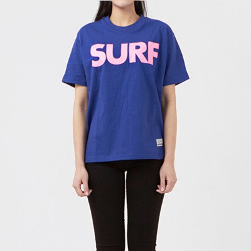 써드위브 반팔티 SURF ROUND T-SHIRT / BLUE