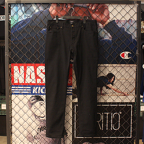 [허프] 5 POCKET BULL DENIM (BLACK) - HFA17PT001BK [허프 HUF 팬츠]