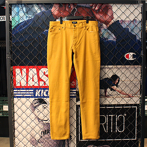 [허프] 5 POCKET BULL DENIM (MUSTARD) - HFA17PT001BD [허프 HUF 팬츠]