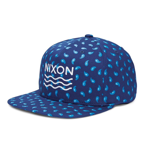 [NIXON] Chain Flex Fit Hat (NAVY) 스냅백/모자-N151HW03M0NVY