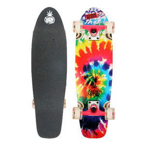 "버즈런 28"" Wood Cruiser board - Prisma_Rainbow 크루저보드 - BZCR28WOOD7"
