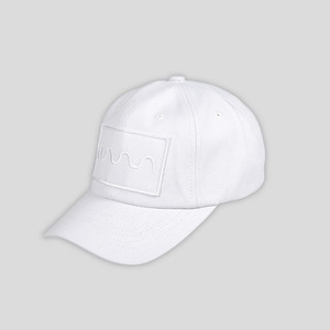 볼캡 화이트 WAVE CAP (WHITE) - GECO16CP01