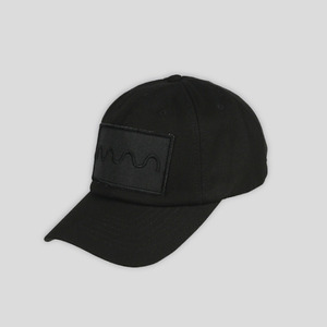 볼캡 블랙 WAVE CAP (BLACK) - GECO16CP02