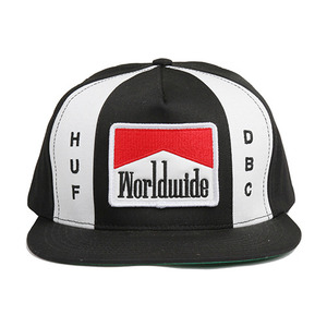 [20%할인+10%쿠폰] WORLDWIDE SNAPBACK (BLACK) - HFHT43036BLK [허프 HUF 스냅백]