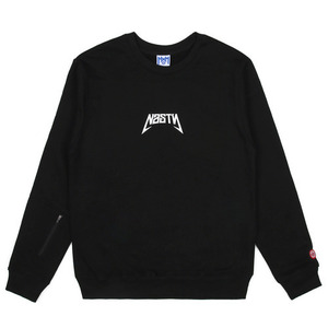 네스티팜 스웨트셔츠 NASTY BACK SIGN SWEATSHIRTS (BLACK) - NASTY16FW006