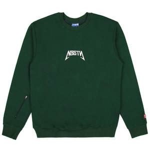 네스티팜 스웨트셔츠 NASTY BACK SIGN SWEATSHIRTS (GREEN) - NASTY16FW008