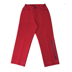 [시즌오프 60% 할인] Real Boy Wide Pants - Red