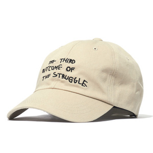 볼캡 [30%할인] STRUGGLE COTTON CAP (BEIGE)