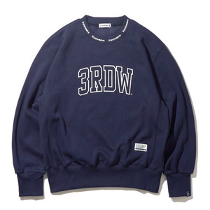 [30%할인+20%쿠폰] AROUND CREW NECK (NAVY)