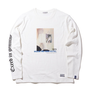 긴팔티 [30%할인] REST IN HOTEL TEE L/S (OFF WHITE)