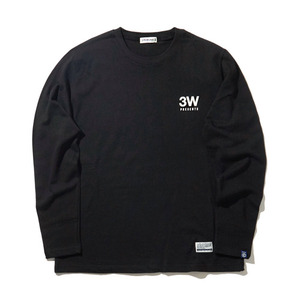 [30%할인+20%쿠폰] PRESENTS BOX LOGO TEE L/S (BLACK)