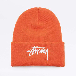 [10%할인+10%쿠폰] STOCK CUFF BEANIE (ORANGE) - ST132796OR