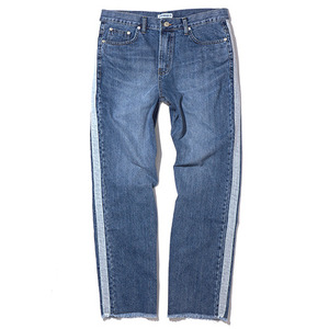 데님팬츠 [15%할인] REGULAR FIT TAPED DENIM / WASHED BLUE