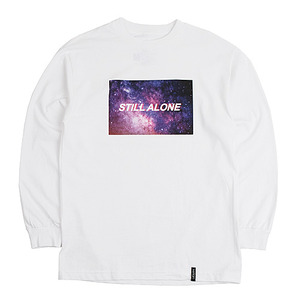 [빅스텝 단독] 켈란 긴팔티 ALONE LONG SLEEVE TEE (WHITE) - KEL16FW019