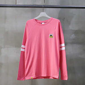 팬콧 긴팔티 POPEYES FOOTBALL LONGSLEEVE (PINK) - PPOHARL73UP5