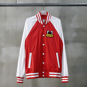 팬콧 윈드브레이커 POPEYES SHIBORI STRIPE WINDBREAKER (RED) - PPOHPWB02UR6