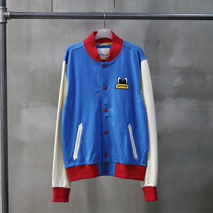 팬콧 스타디움 자켓 POPEYES MINILIGHT STADIUM JACKET (BLUE) - PPOTASJ01UB5