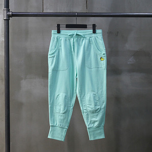 팬콧 배기팬츠 POPDUCK MINI LIGHT BAGGY PANTS (ICE GREEN) - PP122SP04WG1