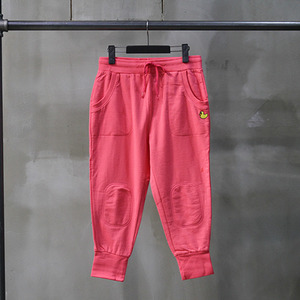 팬콧 배기팬츠 POPDUCK MINI LIGHT BAGGY PANTS (CORAL PINK) - PP122SP04WP8