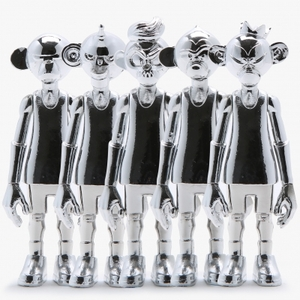 [10%쿠폰] 덩키즈 3인치 실버세트 Art Figure Coolrain Dunkeys 3inch Silver Set (5종 세트) - EPAFALCW24-28