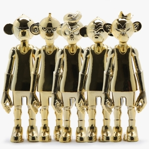 [10%쿠폰] Art Figure Coolrain Dunkeys 3inch Gold Set (5종 세트) - EPAFALCW19-23