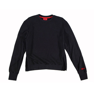 롱 스웨트 셔츠 LONG SLEEVE SWEATSHIRT (BLACK)
