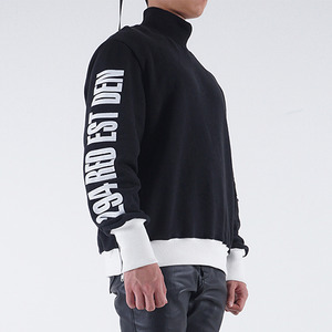 스웨트셔츠 WARMNECK SWEATSHIRT (BLACK)