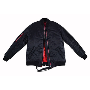 항공점퍼 자켓 BACKZIP PILOT JACKET (BLACK)