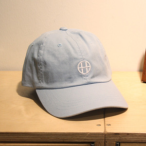 [10%할인+10%쿠폰] CIRCLE H CURVE VISOR 6 PANEL (LIGHT BLUE) - HFA17HT00018LBL