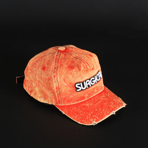 [SGSL] VINTAGE WASHING CAP_ORANGE
