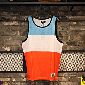 스투시 민소매 TRACK & FIELD TANK (LIGHT BLUE) - ST114766LB