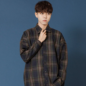 [20%쿠폰] SIESTA POCKET CHECK SHIRT JACKET [NAVY]