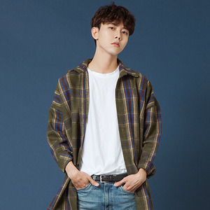 [20%쿠폰] SIESTA POCKET CHECK SHIRT JACKET [KHAKI]