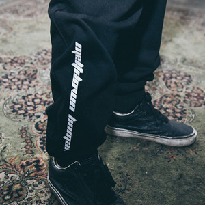 [10%쿠폰] 스웻팬츠 Humanity Sweat Pants Black_GF17SS003