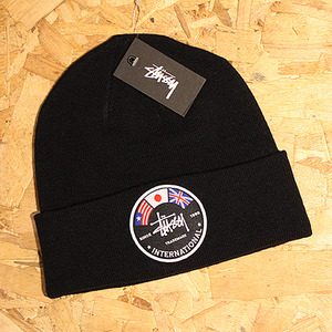 INTERNATIONAL FLAGS BEANIE (BLACK) - ST132706BK