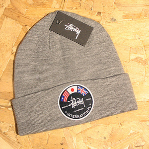 INTERNATIONAL FLAGS BEANIE (GREY HEATHER) - ST132706GY