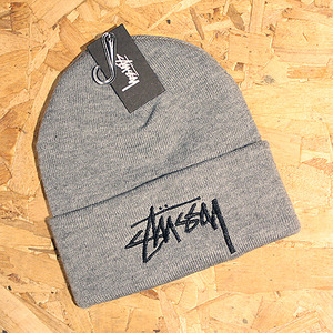 STOCK CUFF BEANIE (GREY HEATHER) - ST132744GY