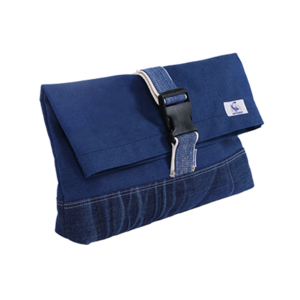 [20%쿠폰] 데님 클러치 Vintage Denim Clutch (Blue) - EIBAG008