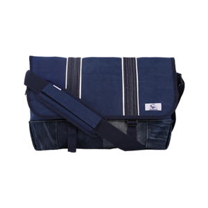 [20%쿠폰] 데님 메신저백 Vintage Denim Messenger bag (Blue) - EIBAG006