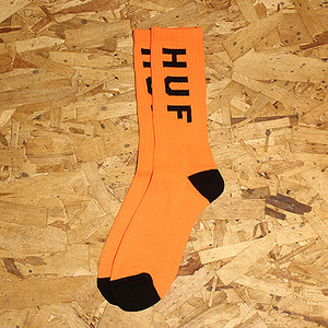 NEON OG CREW SOCK (NEON ORANGE) - HFA17SK024OR