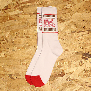 NOODLES CREW SOCK (WHITE) - HFA17SK043WH