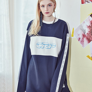 [10%쿠폰] crump crp sweat shirt(CT0060) - navy