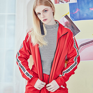 [10%쿠폰] crump individual track jacket (CO0004-2) - red