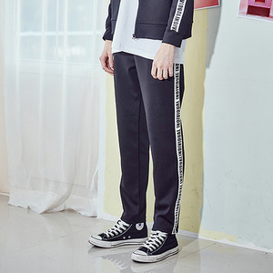 [10%쿠폰] crump individual track pants (CP0010) - black