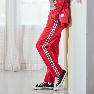 [10%쿠폰] crump individual track pants (CP0010-2) - red