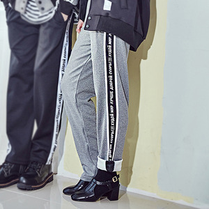 [10%쿠폰] crump represent track pants (CP0011-4) - gray_black