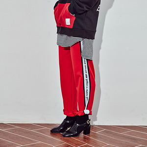 [10%쿠폰] crump represent track pants (CP0011-5) - red_white