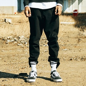 배기팬츠 ZIPPER BAGGY PANTS (BLACK)